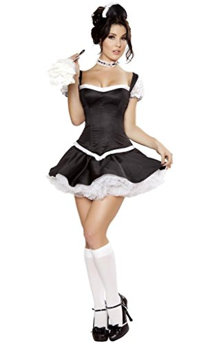 Sexy Corset Top French Maid Halloween Costume