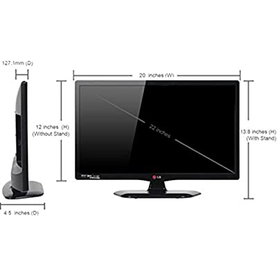 LG 22LB452A 55 cm (22 inches) HD Ready LED TV (Black)