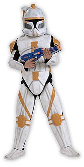 Child Deluxe Clone Trooper Commander Cody - Medium