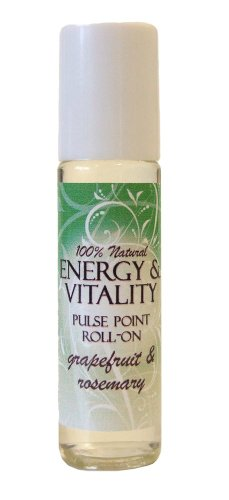 12.5ml Energy and Vitality Aromatherapy Pulse Point Roll On