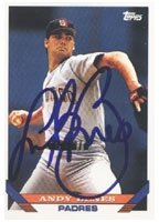 Andy Benes San Diego Padres 1993 Topps Autographed Hand Signed Trading Card. by Hall+of+Fame+Memorabilia