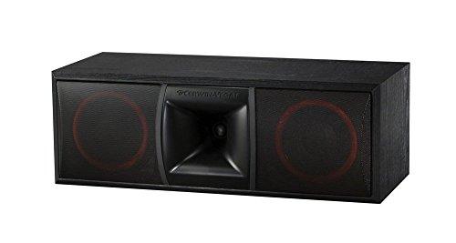 Cerwin-Vega XLS-6C 2-Way Home Audio Center Channel Speaker (Each, Black)