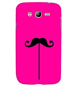 GADGET LOOKS PRINTED BACK COVER FOR SAMSUNG GALAXY GRAND MULTICOLOUR