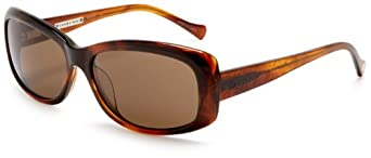 Lucky Women's Interlude Resin Sunglasses,Brown Frame/Brown Lens,one size