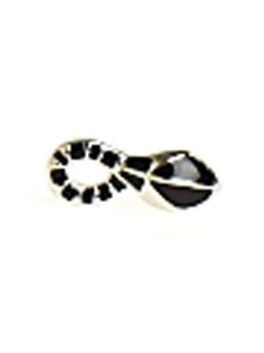 Belle Noel By Kim Kardashian Snake Stud Earrings - Palladium
