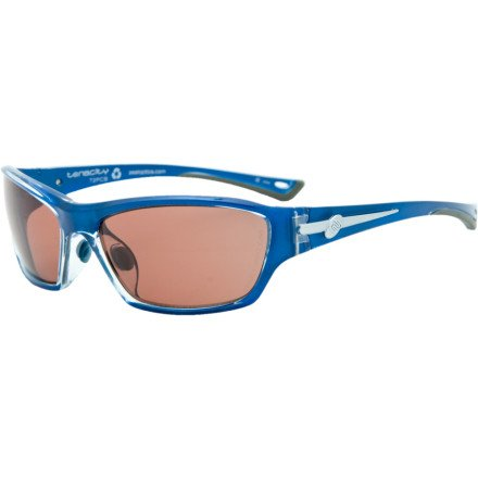 ZEAL PPX Polarized Photochromic Tenacity Sunglass Majolica Blue All Face Fit