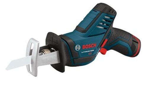 Bosch PS60-2A 12-Volt Max Lithium-Ion Pocket Reciprocating Saw Kit with 2 Batteries, Charger and Case