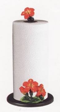 HIBISCUS Paper Towel Holder / Stand *NEW*!