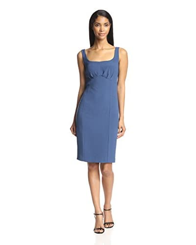 Zelda Women's Sheath Dress with Pleat Detail