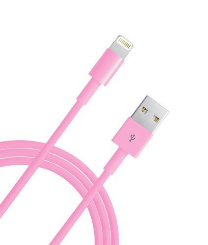 Lightning cable, Jackpower,10 FT Extra Long Lightning USB Cable 8 Pin Sync USB Charging Cord for iPhone 6 / 6 Plus / 6s / 6s Plus / SE , iPhone 5 / 5s / 5c , iPad Air / Air 2 / Mini / iPod(Pink) (10 Feet Lightning Cable Pink compare prices)