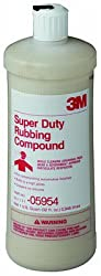 3M Super Duty Rubbing Compound, 05954, 1 Quart