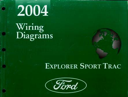 2004 ford explorer sport trac wiring diagrams ford motor. Black Bedroom Furniture Sets. Home Design Ideas