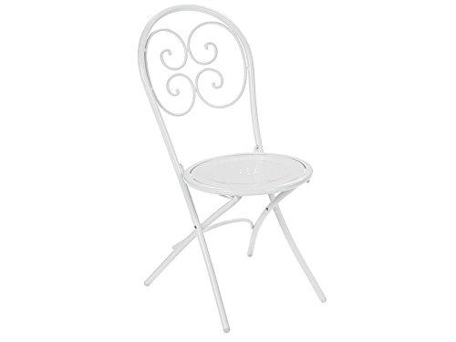 Pigalle Stuhl Klappbar Code 924 Weiß Glänzend Fabre Cod 01