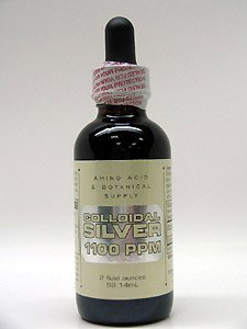 Amino Acid & Botanical Su - Colloidal Silver 1100 PPM 2 oz