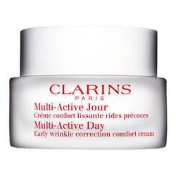 Clarins - Multi-Active Jour - Crème Lissante Rides Précoces Spéciale Peaux Sèches - 50 ml- (for multi-item order extra postage cost will be reimbursed)