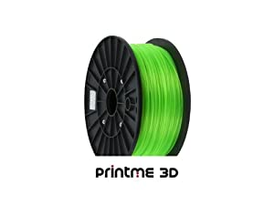 PrintME 3D - PLA Filament 3mm - 1kg 3D Printing (Nuclear Green)
