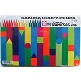 サクラクレパス クーピーペンシル 24色 SKFY24