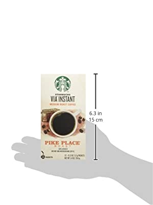 Starbucks VIA Ready Brew Pike Place Roast Coffee 12 Count - Pack of 2 by Starbucks