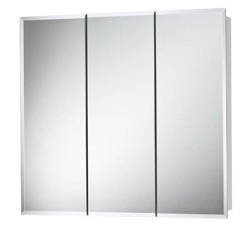 Jensen 255248 Horizon Frameless Medicine Cabinet Tri View