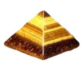 パワーストーン タイガーアイ ピラミッド型 ピラミット 神秘 虎目石 天然石 TM30