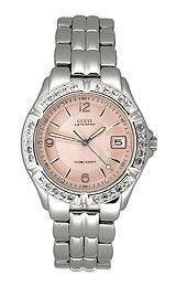 Guess Women's G75791M Stainless-Steel Quartz Watch with Pink Dial