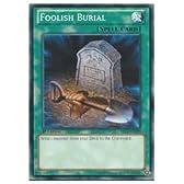 遊戯王 英語版・北米版 緑 FOOLISH BURIAL(N)(1st)(おろかな埋葬)
