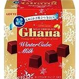 ロッテ ガーナウインターキューブ ミルク チョコレート 57g × 10個