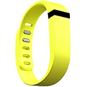 Replacement Wrist Band for Fitbit Flex (Yellow, Large)