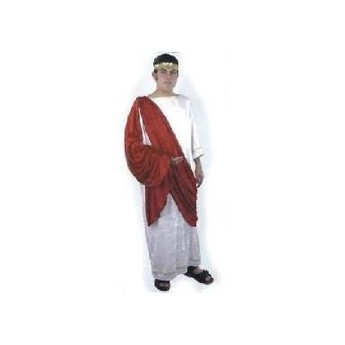 Deluxe Panne' Velvet Adult Caesar Costume - Roman Costume or Toga Party Costume
