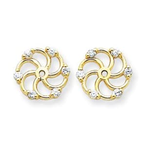 Click to buy 0.6 Carat Diamond Earring Jackets from Amazon!