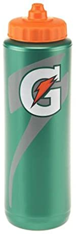Gatorade 50163SM 32 oz. Squeeze Bottle with New Logo
