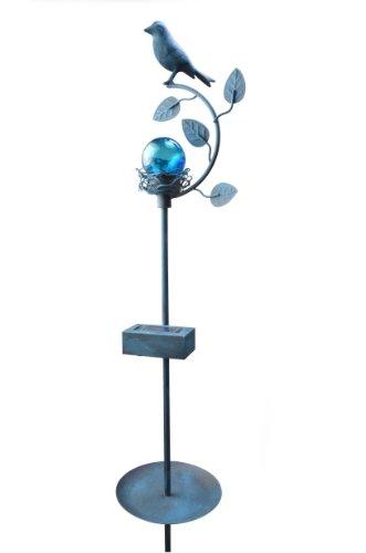 Moonrays 91875 Backyard Bird Garden Stake Light and Outdoor Solar-Powered LED Light