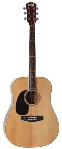 BRIGHTON DG1L NATURAL Acoustic guitars Left-handed