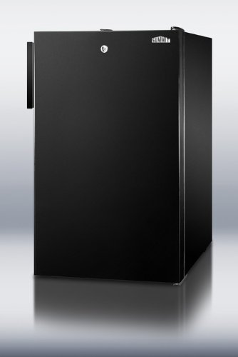 2.8 Cu.Ft. Upright Freezer Finish: Black