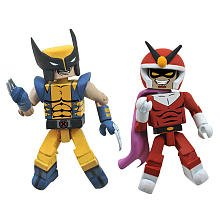 Minimates: Marvel vs Capcom 3 Series 2 Wolverine vs Viewtiful Joe Action Figure 2-Pack