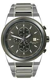 Kenneth Cole dos-tono e instrucciones para hacer vestidos para hombre reloj cronógrafo #KC3851