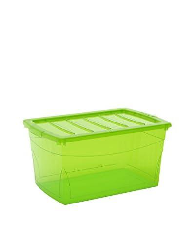 Kis Set Contenitore Organizzazione Spazi 5 pezzi Omnibox L Verde