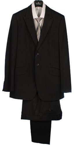 Paul Smith Single Breasted Pinstripe Suit - Navy