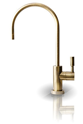 Apec Ceramic Disc Designer Faucet (Antique Brass) Non-Air Gap Faucet back-604270