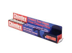 Chimfex Woodburning Stove & Fireplace Chimney Fire Suppressant