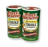 Tony Chacheres Original Creole Seasoning 8 Oz (Pack of 2)