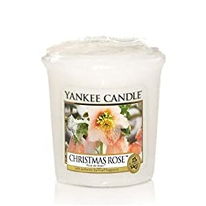 Candle Christmas Rose sampler by Yankee candle