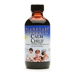 Planetary Herbals Calm Child Herbal Syrup 4 Fl Oz (118.28 Ml)