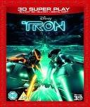 Tron-legacy-3d Super Play: 3d Blu-ray+blu-ray+digital Copy [DVD]
