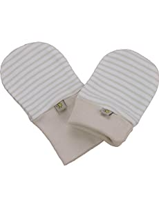 Beaming Baby Chemical Free Organic Cotton Scratch Mitts (0-12 Months) de Beaming Baby - BebeHogar.com