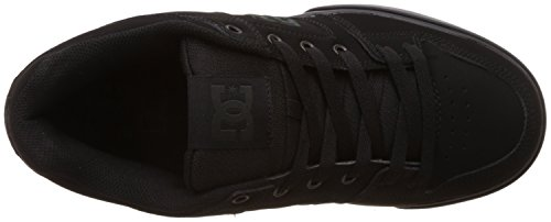 DC Men's Pure Skate Shoe, Black/Pirate Black, 10.5 M US