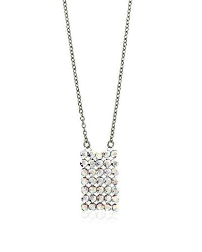Shiny Cristal Collana  argento 925 rodiato