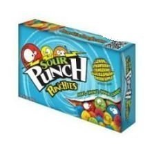 Sour Punch Punchies Candy, 3.5 Ounce Theater Box --(2 Pack)