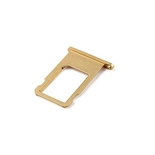 Ewparts SIM Card Tray Replacement for Iphone 6 4.7 Inch (Gold) (Iphone 6 Tray compare prices)