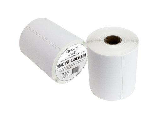 Thermal Label Printer Roll - 250 (4